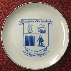 DFAW Commemorative Plate