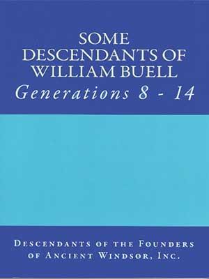 Some Descendants of William Buell. Vol. 2., Generations 8-14
