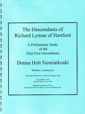 <strong><em>Descendants of Richard Lyman of Hartford</em></strong>