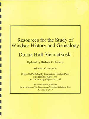 <strong><em>Resources for the Study of Windsor History</em></strong>