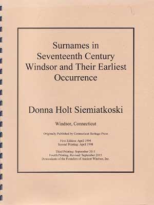 <strong><em>Surnames in Seventeenth Century Windsor</em></strong>